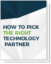 How to Pick the Right Technology Partner Cover