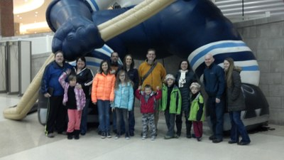 Sixies at the Indiana Ice game