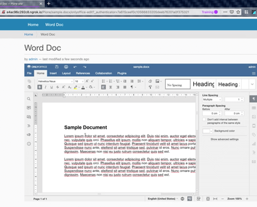 Edit Microsoft Office Documents Within Plone