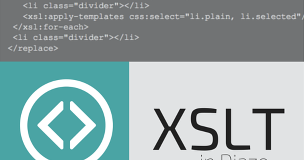 How to use XSLT in Diazo