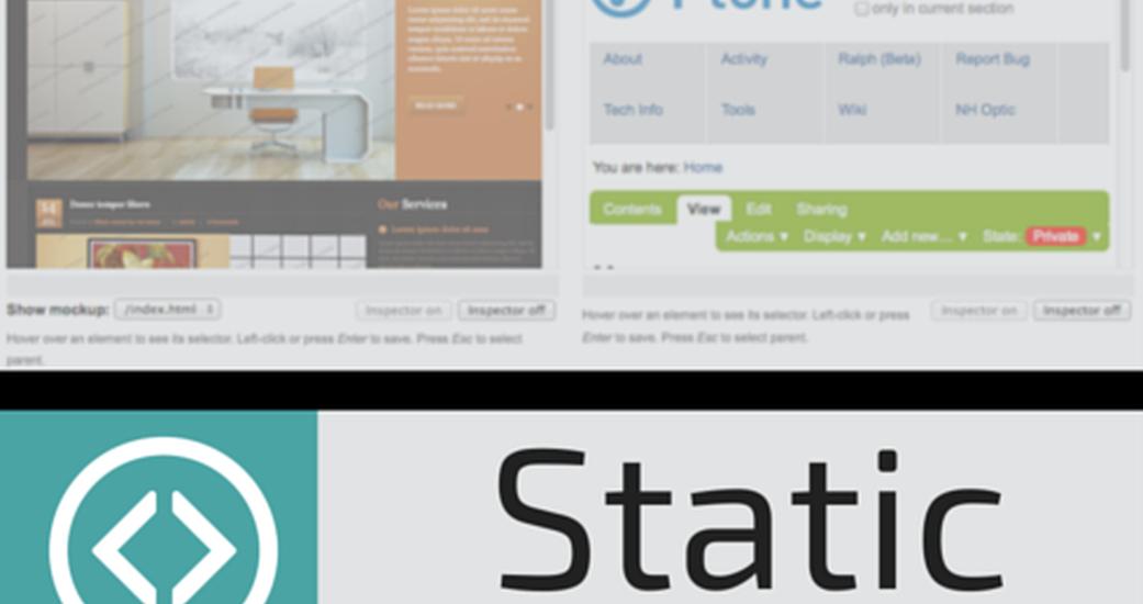 Turn static theme into a Diazo theme through the web