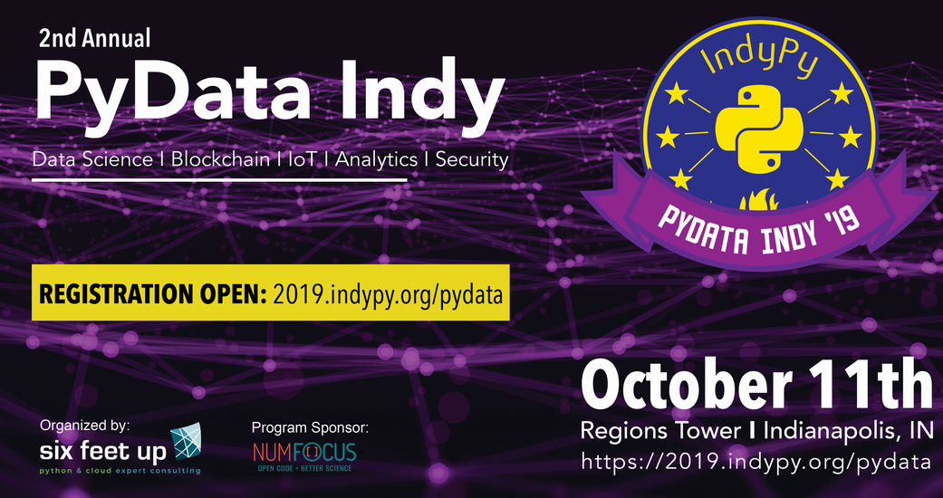 Six Feet Up Holds Second Annual PyData Indy Conference