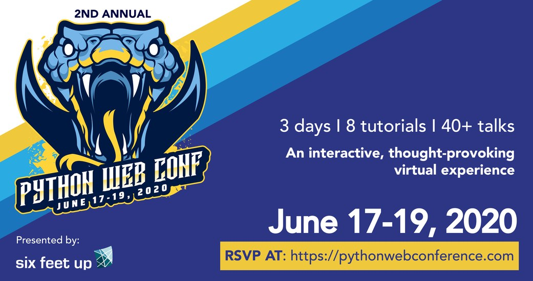 Six Feet Up organizes 2nd Annual Python Web Conference