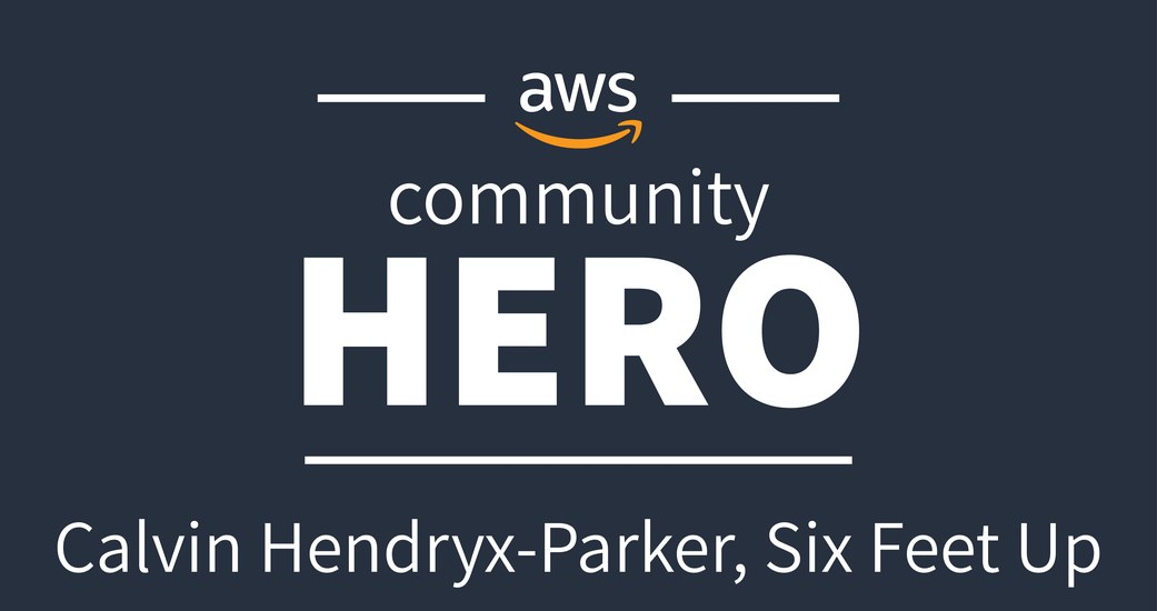 Calvin Hendryx-Parker Named AWS Community Hero