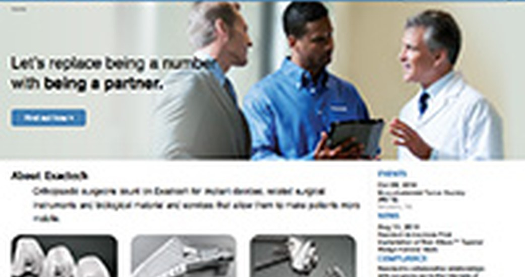 Exactech Boosts its Content Syndication Functionalities