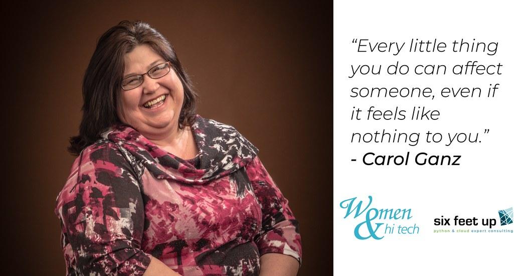 Carol Ganz: Women & Hi Tech Profile