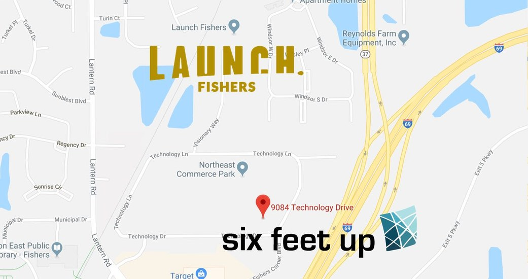 Six Feet Up Graduates from Launch Fishers and Moves to Own Offices