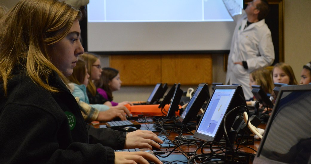 Six Feet Up Partners with Eleven Fifty Academy to Bring High Tech to Girls