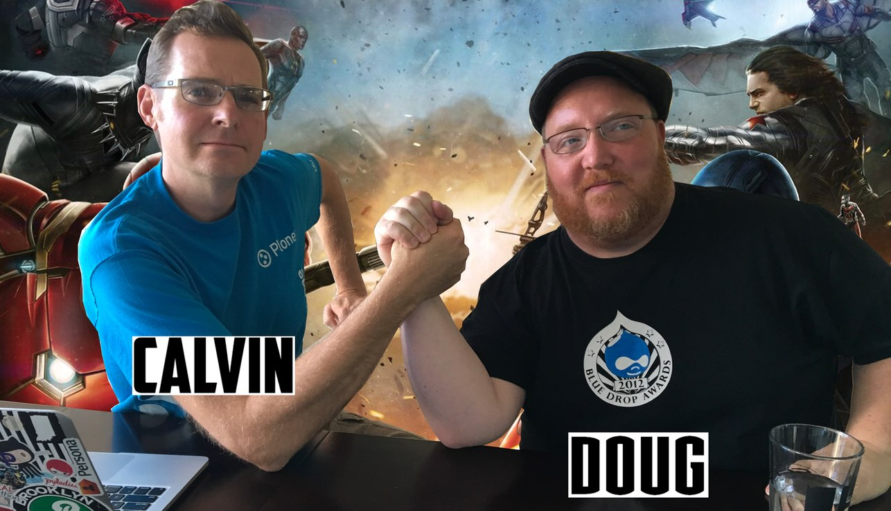 Calvin Hendryx-Parker and Doug Vann