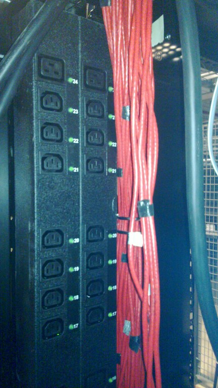 PDUs in Rack