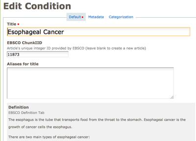 ebsco condition