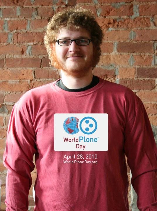 World Plone Day 2010 Shirt