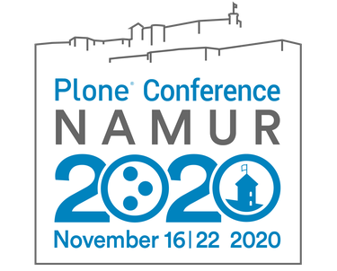Plone Conference Poster Namur 2020 November 16th to the 22nd