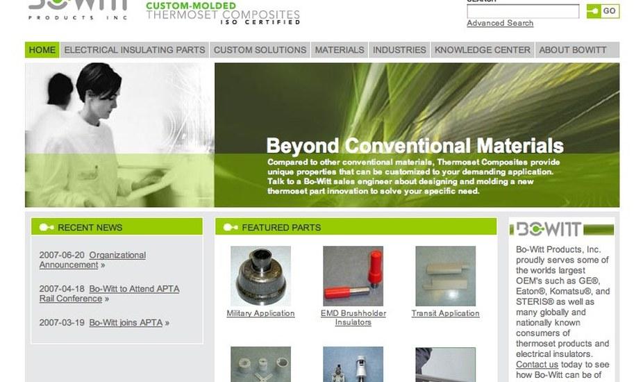 Data-Driven Website