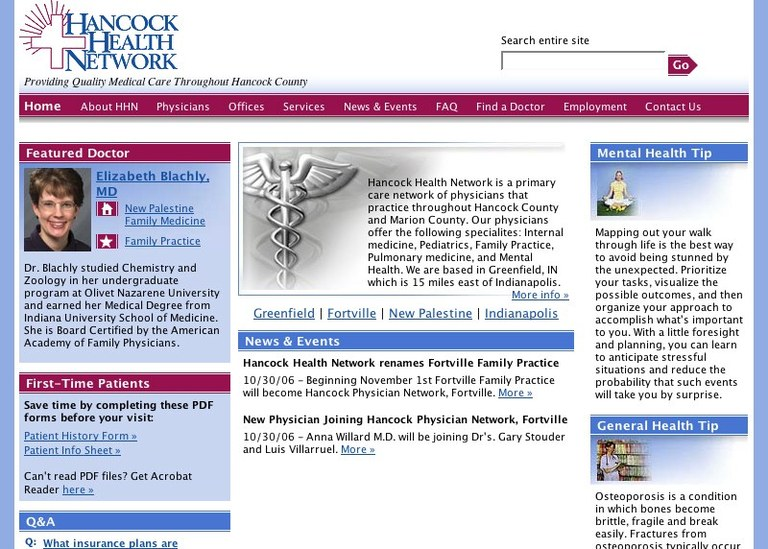 Hancock Health Network (HHN)