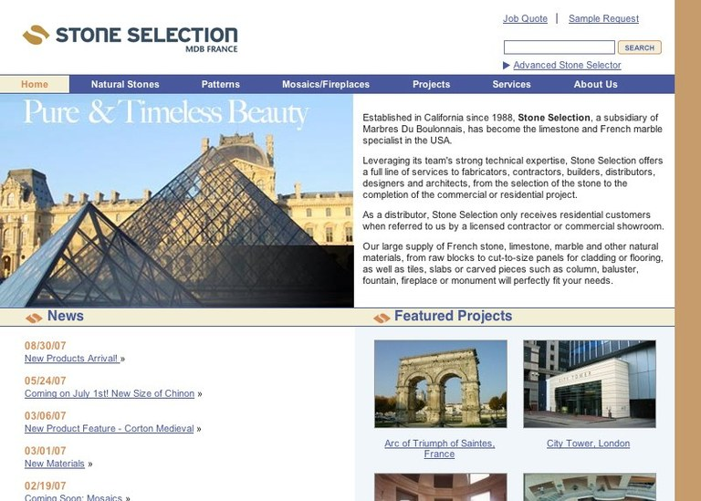 Stone Selection, Inc.