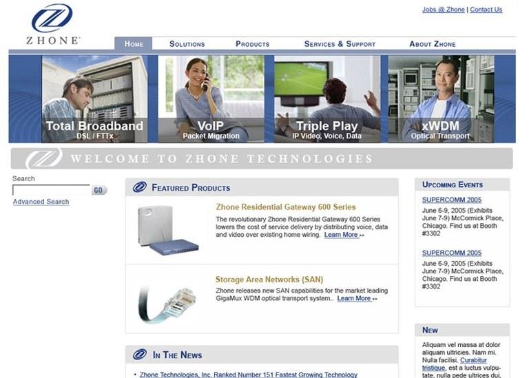 Zhone Technologies, Inc.